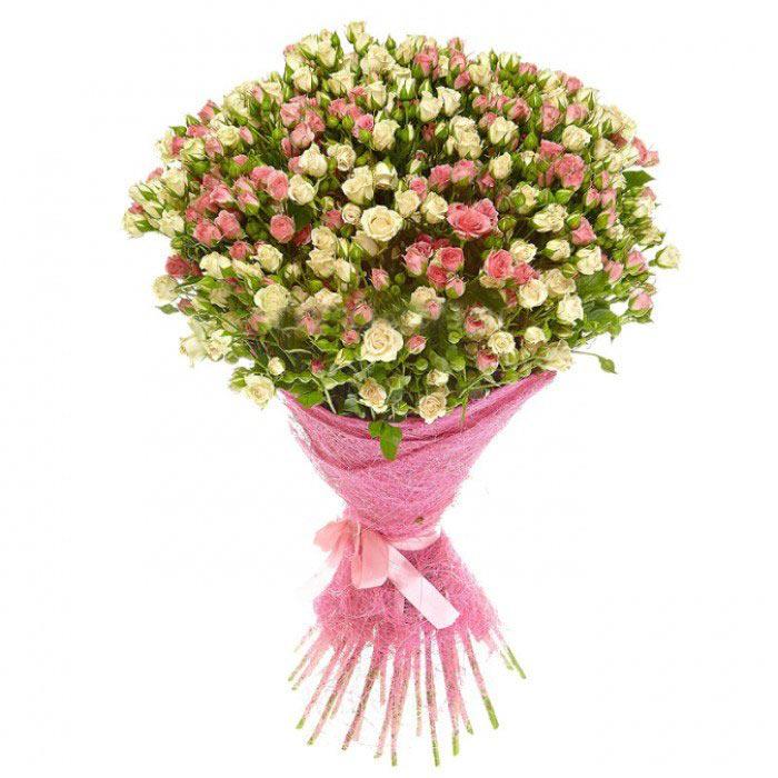 красивый букет из мелких роз расскажите, сильно поменялись